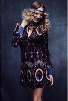 Sexy hippie jaren 70 kostuum voor vrouwen  - Verkleedkleding - Small