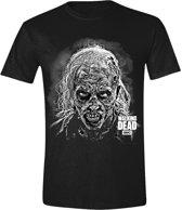 The Walking Dead - Hideous Walker Face Men T-shirt - Black