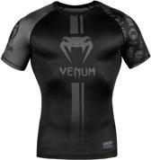 Venum Rashguard Logos Short Sleeve Zwart Medium