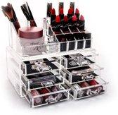 BO Make up organizer 3x2 lades - Transparant Acryl