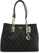 Guess Logo Rock Dames Shopper - Coal