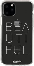 Casetastic Smartphone Hoesje Softcover Apple iPhone 11 Pro - Beautiful