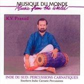 Inde Du Sud Percussions Carnatiques