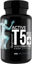 Maxmedix Fat Burner Active T5 Plus Natuurlijk Thermogeen Supplement - 60 Capsules