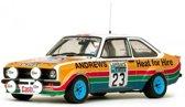 Ford Escort II RS1800 - 3rd RAC Rally 1977 #23 R.Brookes / J.Brown 1-18 Sun Star Limited