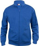 Clique - Sweatshirt zonder capuchon - Unisex - Maat XXL - Kobalt