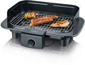 Severin PG 9710 Barbecue Tafelblad Electrisch 2300W Zwart barbecue