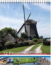 12 Provinciën MAANDnotitiekalender 2019