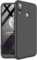 Teleplus Samsung Galaxy M30 360 Ays Hard Rubber Cover Case Black hoesje