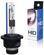 Blanco HID-Xenon lamp D2R 5000K + E-Keur, 1 stuk