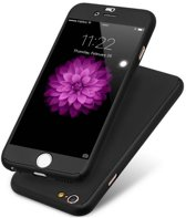 DrPhone iPhone 7+(plus) Hoesje - full Coverage (voor en achter) 360 graden case - CNC crafted premium slim fit case +