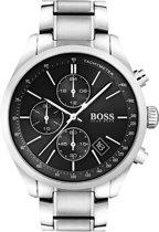 Hugo Boss HB1513477 Grand Prix Horloge - Staal - Zilverkleurig - Ø44 mm
