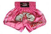 TTBA-11 - Kickboks broekje voor dames met bokshandschoen maat M