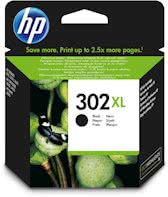 HP 302XL - Inktcartridge / Zwart (F6U68AE)