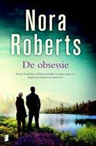 Boek cover De obsessie van Nora Roberts (Onbekend)