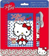 Hello Kitty Stationary Blauw 18x21cm