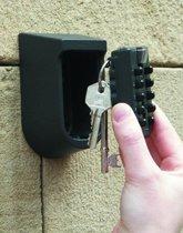 Sleutelkluis - Wandmontage sleutelkluis - Centraal opbergen van sleutels - Thuiszorg - Cijferslot