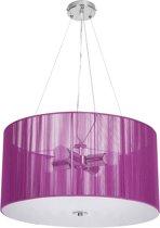 Plafondlamp - hanglamp -  Ø 50 - 40W - 4xE37 - paars