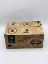 50 stuks | Kerstpakket doosjes | kerst verpakkingen
