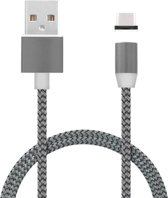Mobiparts Magnetic USB-C to USB Cable 1.5A Dark Grey 1m