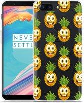 OnePlus 5T Hoesje Happy Ananas