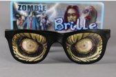 Zombie ogen bril voor volwassenen