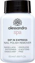 Spa Nail Dip in Express Nail Polish Remover