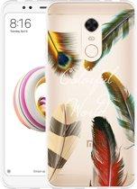 Xiaomi Redmi 5 Plus Hoesje Feathers World