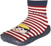 Playshoes zwemsokken rood piraat