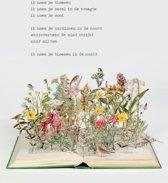 Poezieposter Plint Jan Hanlo 'ik noem je bloemen' / Su Blackwell