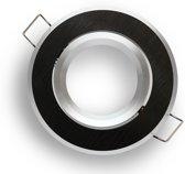 LED line Inbouwspot - Rond - Kantelbaar - GU10 Fitting - Ø 50 mm - Zwart