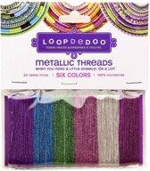 Loopdedoo Metallic Draad - Polyester - Voor armbanden