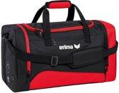 Erima Club 1900 2.0 Sporttas - rood/zwart - 44 x 26 x 26 cm - S