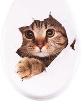 Softclose toiletbril Funny Cat