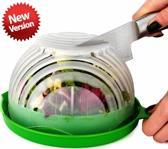 Salade Snijder Kom - Salad Cutter Bowl - Binnen 60 Seconden - Salade Schaal - Vergiet - Incl doos