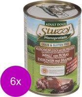 Stuzzy Blik Adult 400 g - Hondenvoer - 6 x Everzwijn