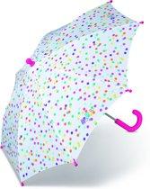 Esprit Kinder Paraplu - Lang - Stippen - Transparant
