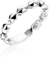 Zinzi Jewels Zilveren Ring  (Maat: 52) - Zilver