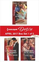 Harlequin Desire April 2017 - Box Set 1 of 2