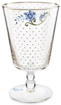 PIP STUDIO WATER GLAS ROYAL GOLDEN DOTS (6 STUKS)