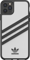 adidas OR Moulded Case PU FW19/SS20 for iPhone 11 Pro Max white/black