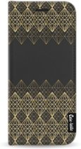 Casetastic Wallet Case Black Samsung Galaxy S9 - Golden Diamonds
