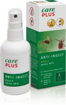 Care Plus Anti Insect Deet Spray Insectenbescherming 50% - 60 ml - 1 stuk