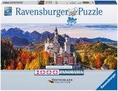 Ravensburger puzzel Neuschwanstein in de Herfst