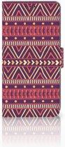 Sony Xperia XZ3 Bookcase Aztec Purple