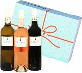 Luxe Wijnbox Frankrijk - Wijn Cadeau - incl. Geschenkverpakking - 2 x 75cl
