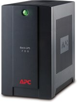 APC Back-UPS BX700U-GR - Noodstroomvoeding / 4x stopcontact / USB / 700VA