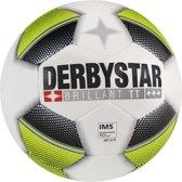 Derbystar Brillant TT - Voetbal - wit/geel/zwart