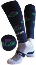 WackySox Schotland sokken Blauw / Wit 35-40