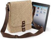 Quadra Vintage Canvas iPad™/Tablet Tas Sahara
